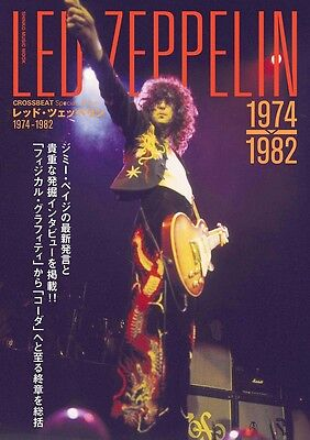 LED ZEPPELIN CROSSBEAT Special Edition 1974-1982 Japanese Book