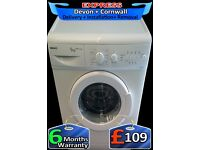 Fast 1400 spin Beko Washing Machine, Quick Wash, Fully Reconditioned inc 6 Months Warranty