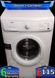 Zanussi 6kg Large Drum, Fast 1400, Quick Wash, Mini Load, Fully Refurbished inc 6 Months Warranty