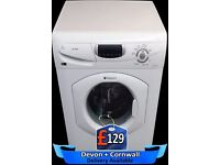 Large LCD screen, Big 7Kg Drum, Fast 1400 spin Hotpoint, Fully Reconditioned inc 6 Months Warranty