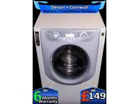 Hotpoint Washing Machine, A+ Rated, 1400 Aqualtis , Silent, Fully Refurbished inc 6 Months Warranty