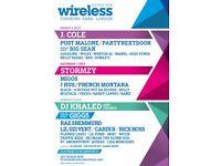 Wireless festival 3- days
