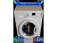 Quick Wash, A+ , Hotpoint 6Kg Washing Machine, Fast 1300, Fully Refurbished inc 6 Months Warranty