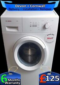 Bosch Washing Machine, Fast 1400, A+ Rated, Quick Wash, Fully Refurbished inc 6 Months Warranty