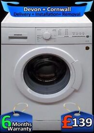 Siemens Washing Machine, Touch Control, Fast 1400, A+ Rated, Fully Refurbished inc 6 Months Warranty