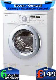 Direct Drive, Big 7.5Kg, LG Washing Machine, No Belt, 1200,Factory Refurbished inc 6 Months Warranty