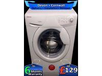 Hoover Washing Machine, Big 8Kg Drum, Fast 1400, Fast Wash, Fully Refurbished inc 6 Months Warranty
