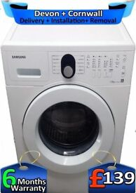 Big 7Kg, Air Refresh, Samsung Washing Machine, Rapid, LCD, Factory Refurbished inc 6 Months Warranty