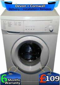 1000 Spin, Many Programs, Pro-Action Washing Machine, Factory Refurbished inc 6 Months Warranty