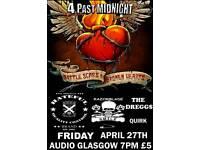Punk Night 4 Past Midnight AUDIO Glasgow