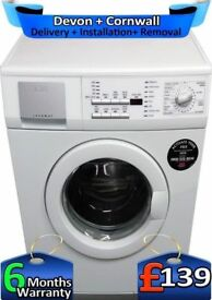 Fuzzy Logic, Top Tech, AEG Washing Machine, Big 7Kg, 1400, Factory Refurbished inc 6 Months Warranty