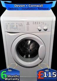 6Kg Load, Fast 1200, Indesit Washing Machine, Quick Wash, Factory Refurbished inc 6 Months Warranty