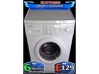 Fast 1200, Touch Control Bosch, 6Kg Drum, Washing Machine, Fully Reconditioned inc 6 Months Warranty