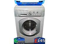 Quick Wash, 1400 Spin, 8kg Drum, Hotpoint Washing Machine, Factory Refurbished inc 6 Months Warranty