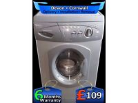 Big 6Kg Drum, Quick Wash, Hotpoint fast 1200 Spin, Aquarius, Fully Refurbished inc 6 Months Warranty
