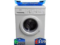 Half Load, 5.5kg, Fast 1200, Siemens Washing Machine, Factory Refurbished inc 6 Months Warranty