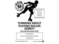 Try Roller Derby!