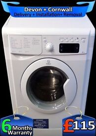 Fast 1200, 6Kg drum, Indesit Full LCD, A+ Rated, Quick Wash, Fully Refurbished inc 6 Months Warranty