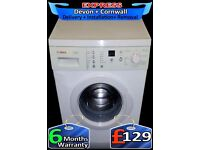 Touch Sensitive Bosch Washing Machine, Aqua Plus, Fully Reconditioned inc 6 Months Warranty