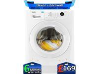Huge 9Kg, AAA+ Rated, Fast Wash, Zanussi Washing Machine, Factory Refurbished inc 6 Months Warranty