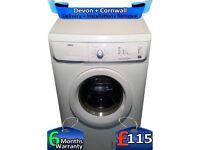 6kg Drum, Fast 1200, Zanussi Washing Machine, Quick Wash, Factory Refurbished inc 6 Months Warranty