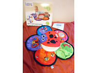 Lamaze Spin & Explore Garden Gym - tummy time toy, very lighty used, box & instructions