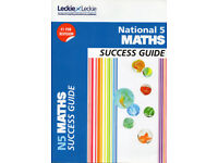 National 5 Maths Book - Success Guide - Leckie & Leckie