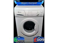 Hotpoint Washing Machine, 6Kg Drum, Fast 1200, Quick Wash, Factory Refurbished inc 6 Months Warranty