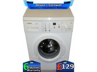 LCD Display, Big 7Kg, Fast 1200, Bosch Washing Machine, Factory Refurbished inc 6 Months Warranty
