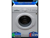 A+ Rated, Siemens Washing Machine, Fast 1400, Top Spec, Factory Refurbished inc 6 Months Warranty