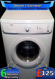 Very Fast 1600, Top Zanussi A+ Rated, 6Kg Drum, Rapid Wash, Fully Refurbished inc 6 Months Warranty