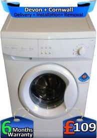 Eco Wash, Polar White, 5Kg Load, Swan Washing Machine, Factory Refurbished inc 6 Months Warranty