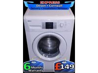 A++ Rated Washing Machine, Beko Fast 1400, 9KG Mega Drum, Fully Reconditioned inc 6 Months Warranty