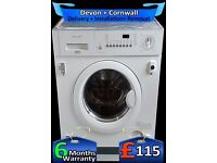 Quick Wash, Zanussi Fast 1200, Integrated Washing Machine, Fully Refurbished inc 6 Months Warranty