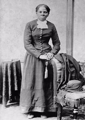 Harriet Tubman Glossy Poster Picture Photo Print Abolitionist Black Slave 3202