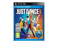 JUST DANCE 2017 FOR PS3 OR XBOX 360 GAMES SEALED