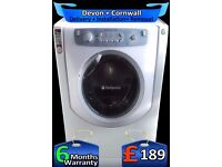 Hotpoint Ultima Huge 8Kg Drum Steam Washer Dryer, Fast Wash, Fully Refurbished inc 6 Months Warranty