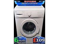 Beko Washing Machine, Many Programs, Slimline 5Kg Drum, Fully Reconditioned inc 6 Months Warranty