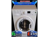 A++, Fast 1350 spin, Current Model Hotpoint 8kg Mega Drum, Fully Reconditioned inc 6 Months Warranty