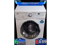Super Silent Big LG 7kg, LCD, Quick Wash, AA+ Rated, 1200, Fully Refurbished inc 6 Months Warranty