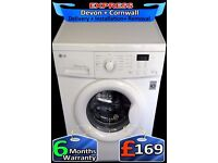 LG Direct Drive, No Belt, Top Build, Rapid Wash, Fully Reconditioned inc 6 Months Warranty