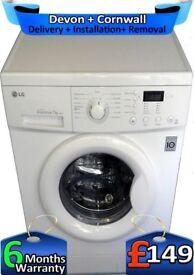 Direct Drive, A+, Big 7Kg, Fast Wash, LG Washing Machine, Factory Refurbished inc 6 Months Warranty