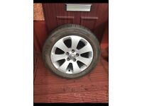 Vauxhall Alloy with new tyre