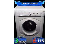 Rapid Wash, A+ Rated, Hotpoint Aquarius 1200 spin, 6Kg, Fully Refurbished inc 6 Months Warranty