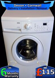 Zanussi 1200 spin Washing Machine, LCD, Quick Wash, A+, Fully Refurbished inc 6 Months Warranty