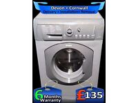 Huge 8Kg Graphite Grey, Hotpoint Washing Machine, Fast 1500, Fully Refurbished inc 6 Months Warranty