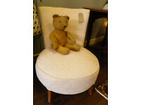 LOVELY LITTLE VINTAGE BEDROOM CHAIR - WE CAN DELIVER