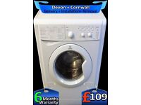 Quick Wash, 1000 Spin, Indesit Washing Machine, 5Kg Drum, Fully Refurbished inc 6 Months Warranty