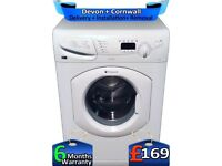 Fast 1400, Hotpoint Washer Dryer, 6+5KG, Quick Wash, LCD, Factory Refurbished inc 6 Months Warranty