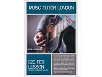 BASS TUTOR! LOWEST PRICE! FIRST LESSON FREE!